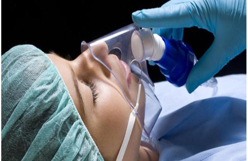 Anestesia, reanimação e respiração